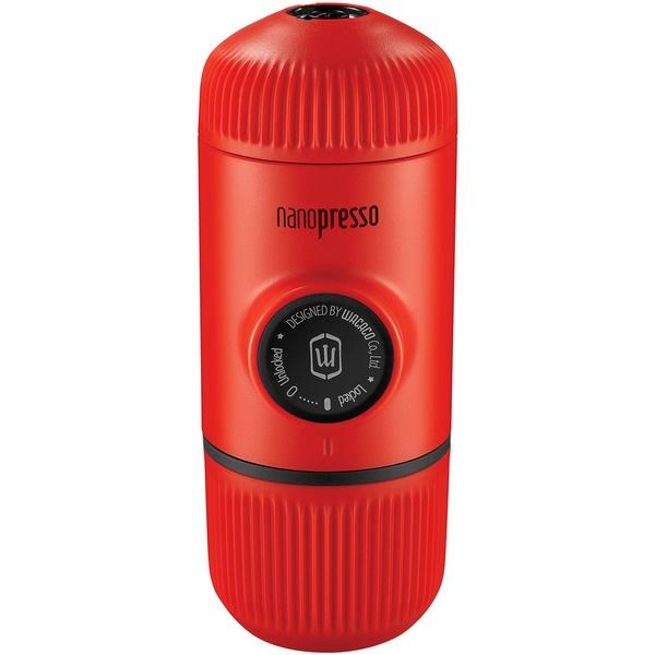 Капсульная кофемашина Wacaco Nanopresso WCCLVRD красного цвета