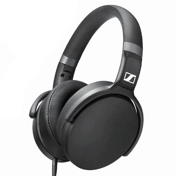 Наушники SENNHEISER HD 400S черного цвета