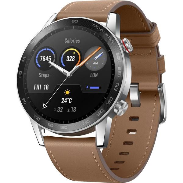Смарт-часы Honor Magic Watch 2 льняной коричневый (MNS-B19) фото