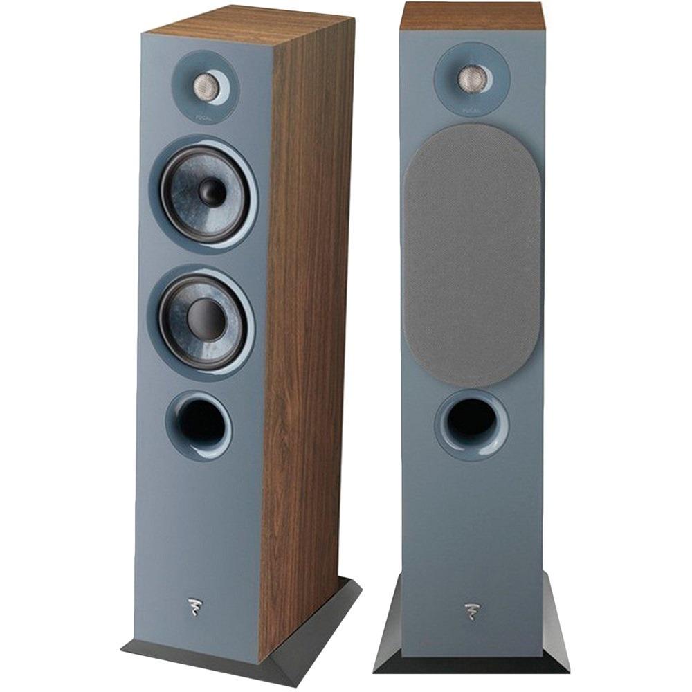 Акустическая система Focal Home Chora 816 Dark Wood коричневого цвета