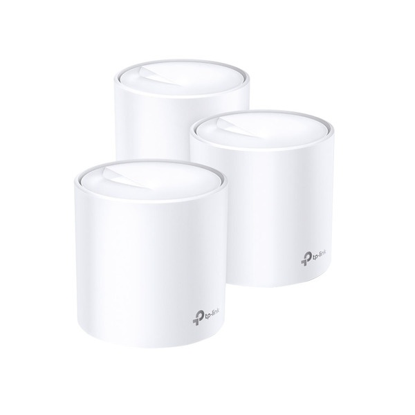 Роутер TP-LINK Deco X60 (3-PAC) Deco X60 (3-PAC) белого цвета