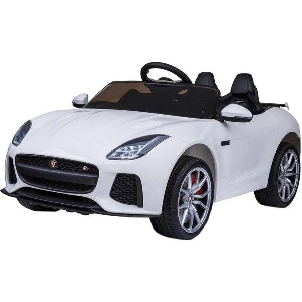 Детский электромобиль Toyland Jaguar F-Type QLS-5388 белый Jaguar F-Type белый QLS-5388 фото