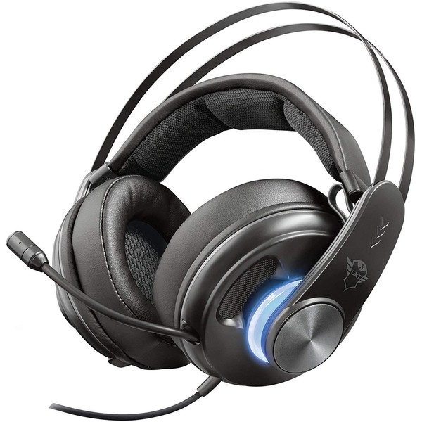 Компьютерная гарнитура Trust GXT 383 Dion 7.1 Bass Vibration Headset черного цвета