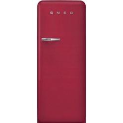 Холодильник высотой 150 см Smeg FAB28RDRB3 красный