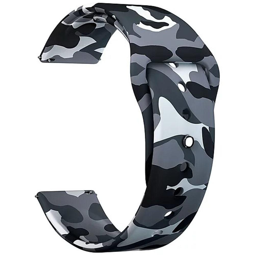 Ремешок для умных часов Lyambda Urban 20 мм, Military Gray (DSJ-10-72T-20) Urban 20 мм, Military Gray (DSJ-10-72T-20)