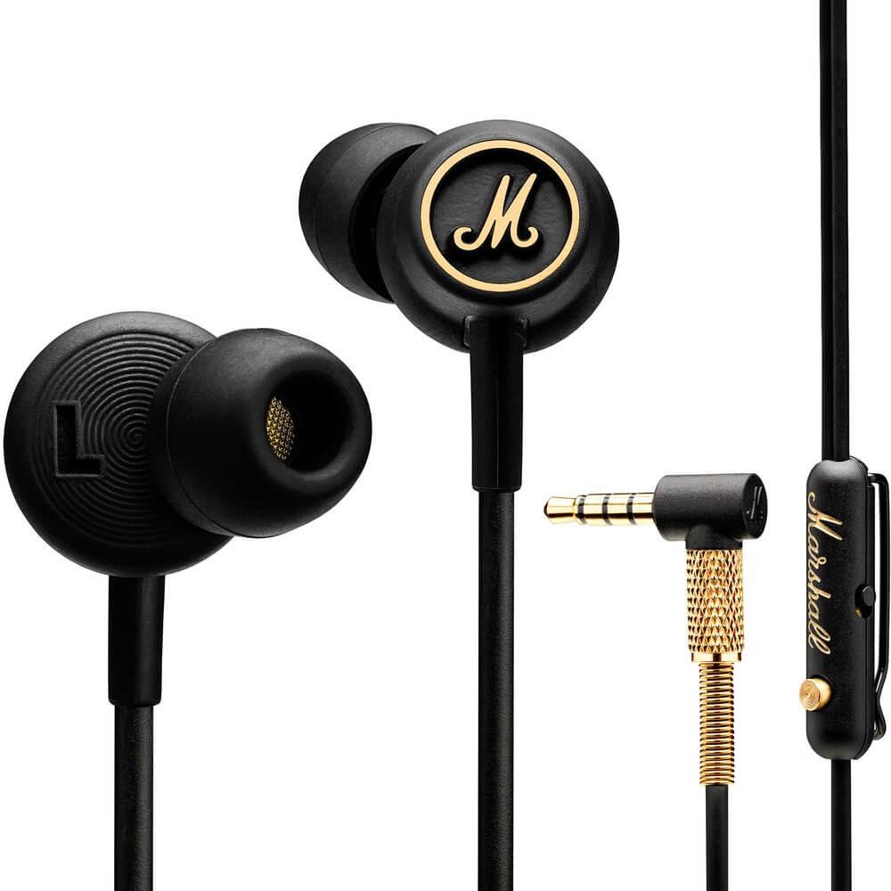 Наушники Marshall Mode EQ, чёрный черного цвета