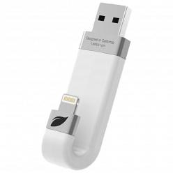Флэш-диск Leef iBridge LIB000WW128R6 128GB белый