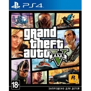 Grand Theft Auto V PS4, русская версия