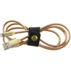 Кабель Red Line S7 USB-Lightning, золотой