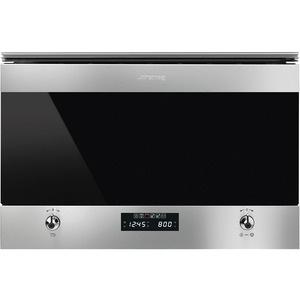 Встраиваемая микроволновая печь Smeg MP322X1 Classica