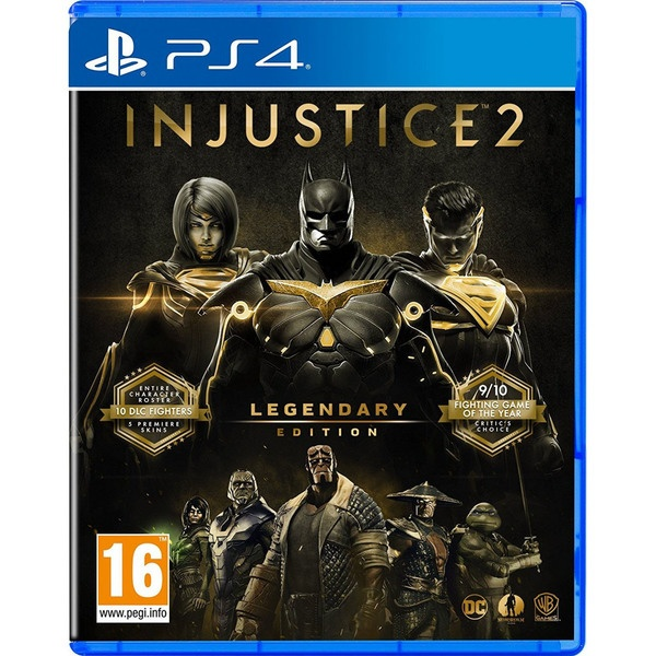 Injustice 2 Legendary Edition PS4, русские субтитры фото