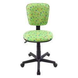 Компьютерное кресло Бюрократ CH-204NX зеленые кактусы