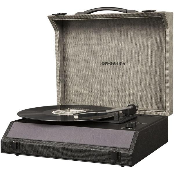 Проигрыватель виниловых пластинок Crosley Momento CR8018A-MN Bluetooth