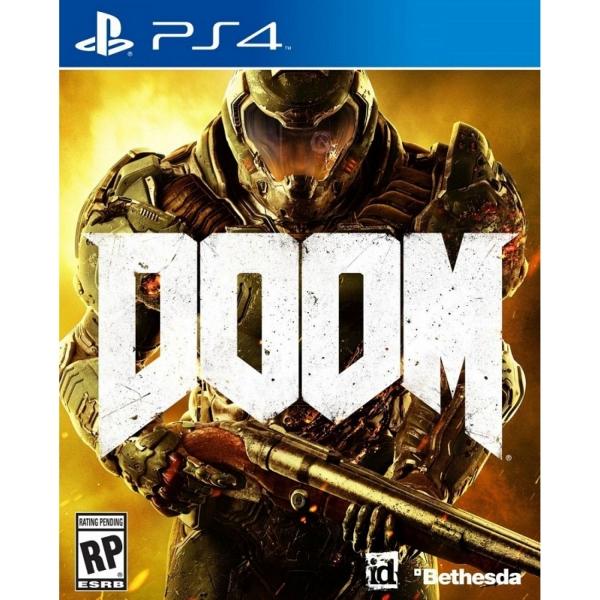 DOOM PS4, русская версия Sony