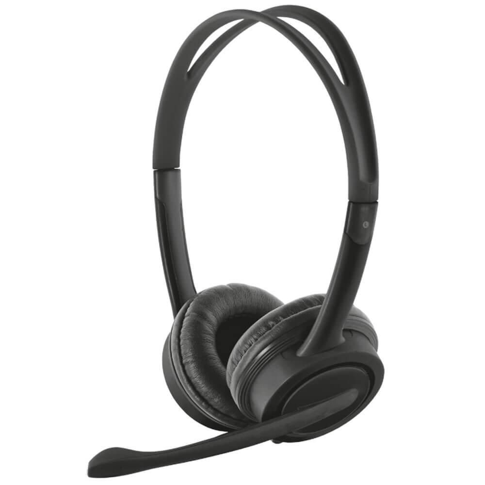 Наушники Trust Mauro USB Headset черного цвета