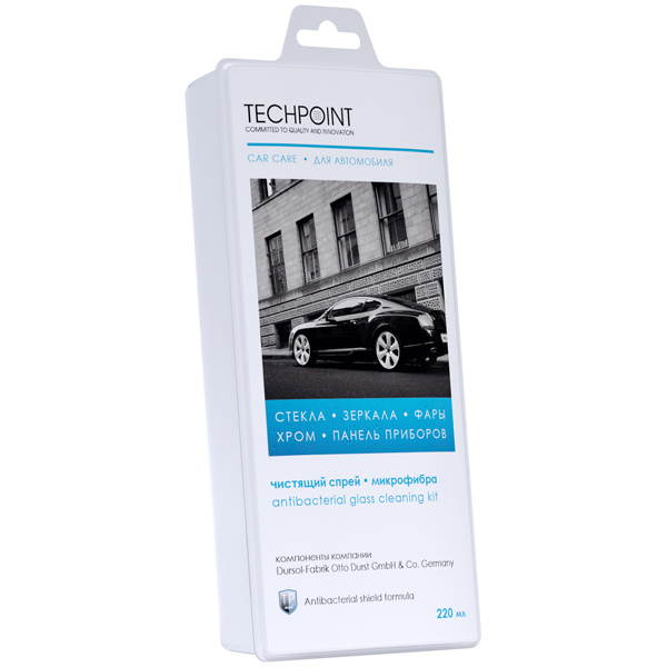 Набор Techpoint 7780 для ухода за стеклянными