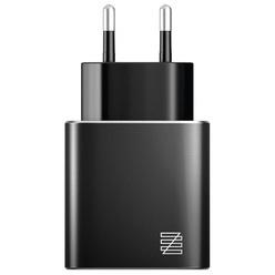 Зарядное устройство Lenzza Piazza MFi LPAWCMFI Black