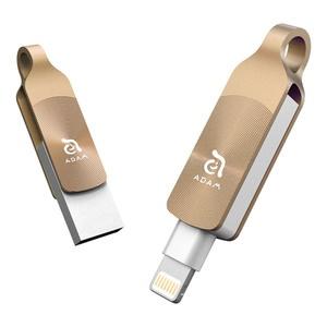 Adam Elements iKlips DUO Plus 32GB, золотой