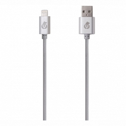 Аксессуар Apple uBear DC04BL01-I5 MFI Lightning, серый