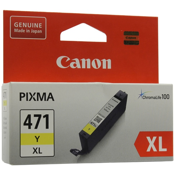 Картридж Canon CLI-471Y