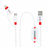 Skross BUZZ 2in1 microUSB-Lightning Connector