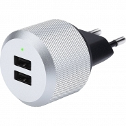 Just Mobile AluPlug 2 USB 2.4 A (PA-168EU)