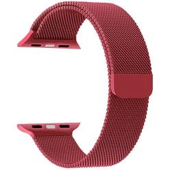 Ремешок для умных часов Lyambda Capella 42/44 мм, красный (DS-APM02-44-GS)