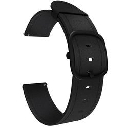 Ремешок для умных часов Lyambda Minkar 22 мм, черный (DSP-03-22)