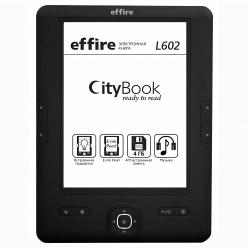 Электронная книга Effire City Book L602.black