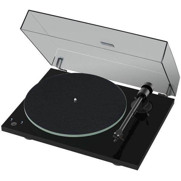 Проигрыватель виниловых пластинок Pro-Ject T1 Phono SB (OM 5E) Piano Black.