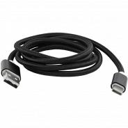 Red Line USB-USB Type-C 2.0, 1 м, черный