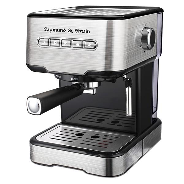 Кофеварка ZigmundShtain ZCM-850 Al Caffe Polaris серебристого цвета