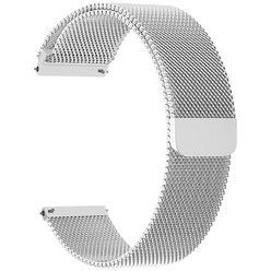 Ремешок для умных часов Lyambda Capella 20 мм, серебристый (DS-GM-01-20-SL)