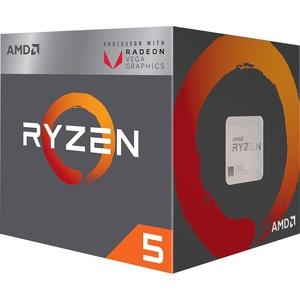 AMD Ryzen X4 R5-2400G YD2400C5FBBOX