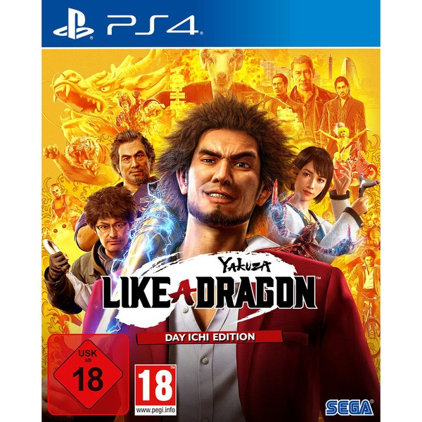 Yakuza: Like a Dragon. Day Ichi Edition PS4, английская версия Sony