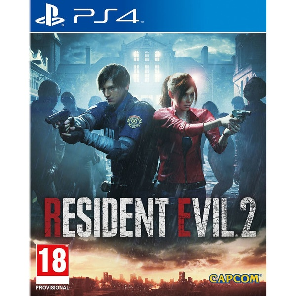 Resident Evil 2 PS4, русские субтитры Resident Evil 2 PS4, русский фото