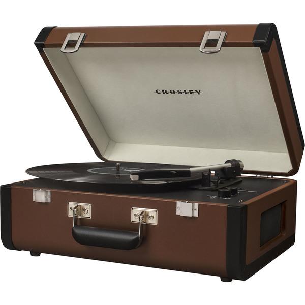 Проигрыватель виниловых пластинок Crosley Portfolio Portable CR6252A-BR