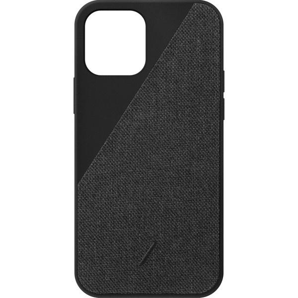 Чехол для смартфона Native Union Clic Canvas для iPhone 12/12 Pro, чёрный