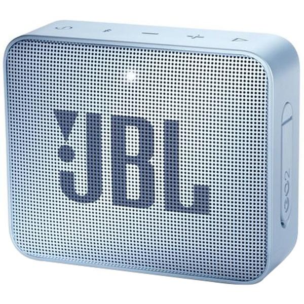 Портативная акустика JBL GO2 Cyan, голубой  - купить со скидкой