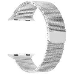 Ремешок для умных часов Lyambda Capella 38/40 мм, белый (DS-APM02-40-WT)