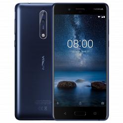 Смартфон Nokia 8 Tempered blue