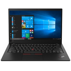 Ноутбук Lenovo ThinkPad X1 Carbon Black (20QD003KRT)