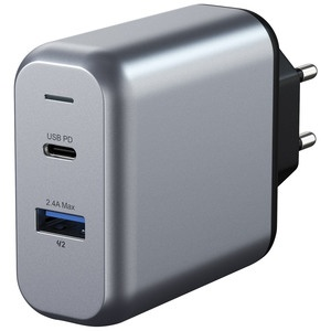 Satechi 30W Dual-Port Travel Charger (2 USB /2.4 A)