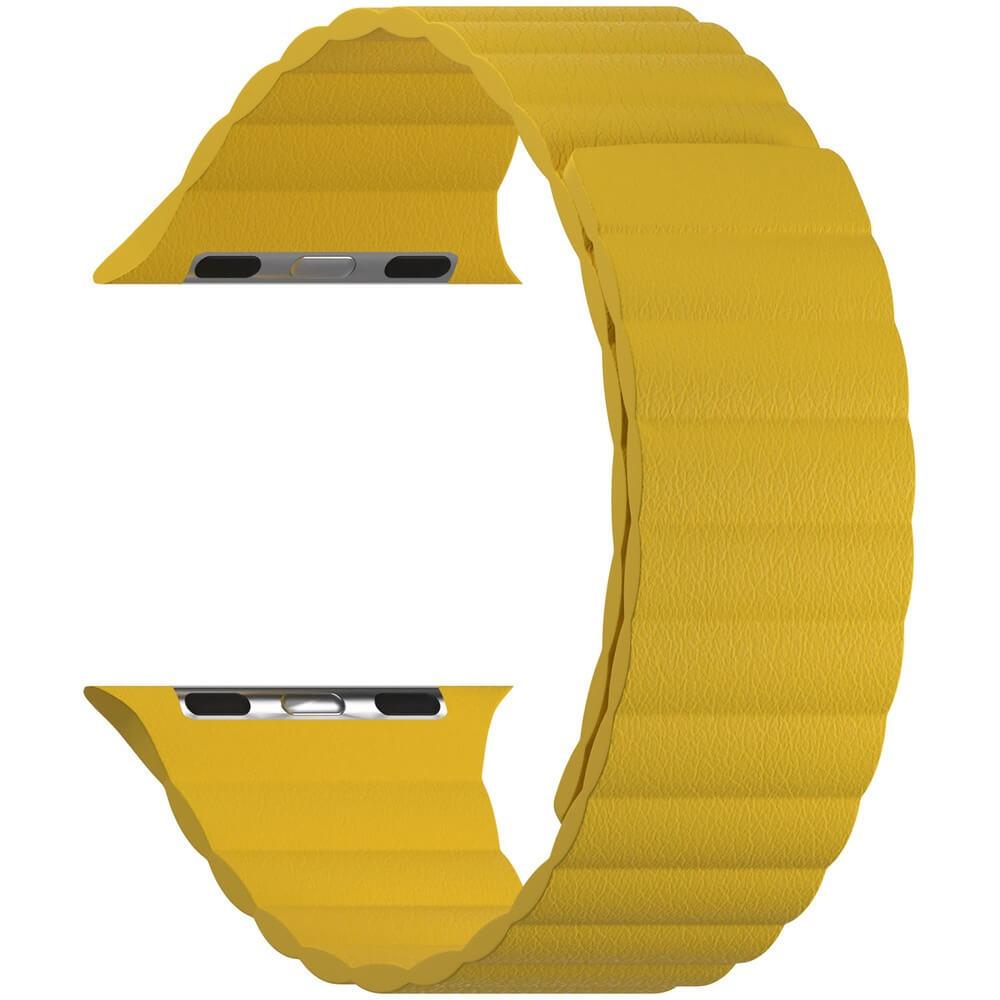 Ремешок для умных часов Lyambda Pollux 42/44 мм, жёлтый (DSP-24-44-YL) Pollux 42/44 мм, жёлтый (DSP-24-44-YL)