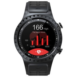 Умные часы GEOZON Sprint Black/Red (G-SM02BLKR)