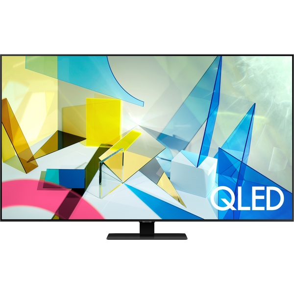 Телевизор Samsung QE75Q80TAUXRU (2020) QE75Q80TAUXRU (2020) серебристого цвета