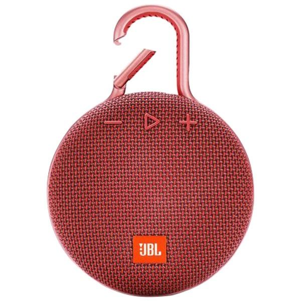 Портативная акустика JBL Clip 3 Red, красный  - купить со скидкой