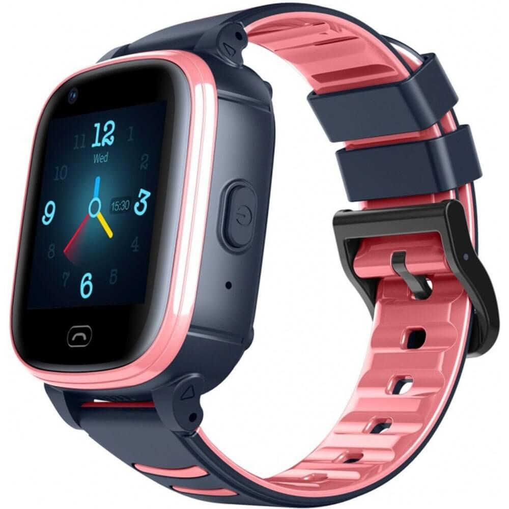 Детские умные часы Jet Kid VIsion 4G Pink/Grey розового цвета