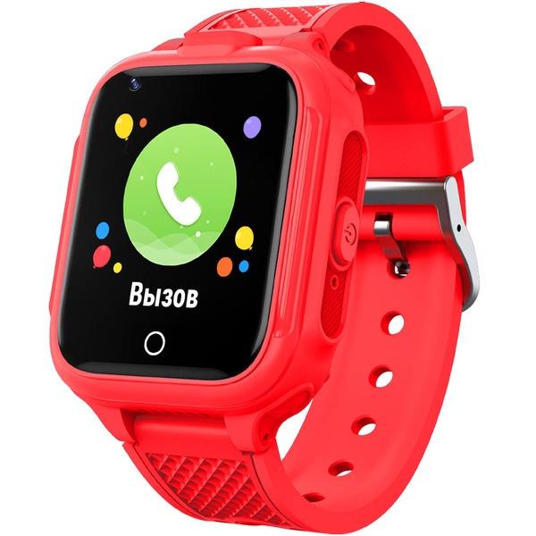 Детские умные часы GEOZON 4G Plus Red