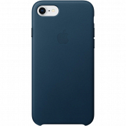 Apple iPhone 8/ 7 Leather Case Cosmos Blue